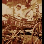 Suffrage Wagon in 1913