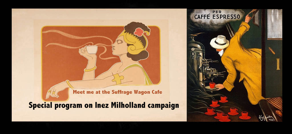 Suffrage Wagon Cafe