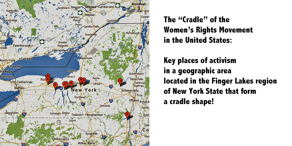 Cradle of women's rights movement