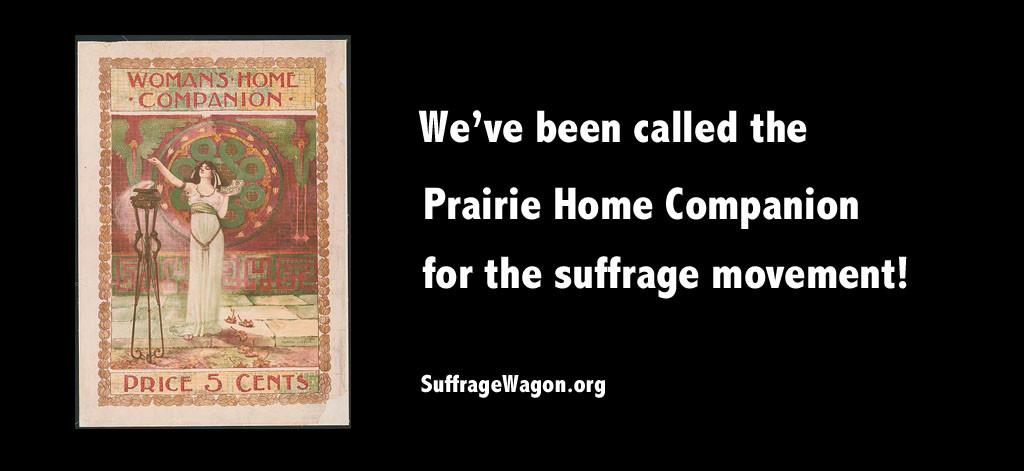 Suffrage Wagon
