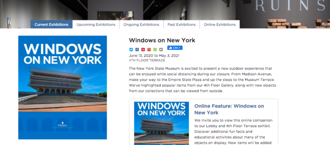 """Suffrage Wagon at NYS Museum exits """"Window on New York"""" exhibition"""